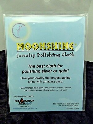 Moonshine The Best Polishing Cloth For Silver Gold 7 1/2 x 5