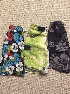 Boys bathing suits size large (10-12)