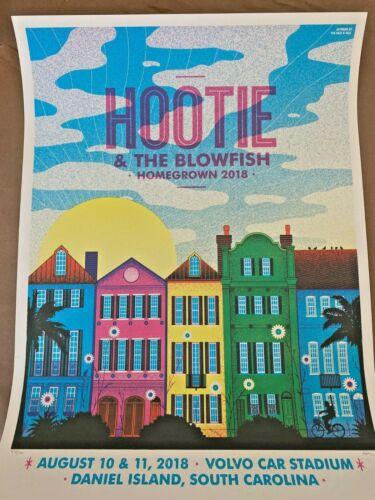 Hootie & The Blowfish 2018 HOMEGROWN Screen Print Poster S/N #/500 Darius Rucker