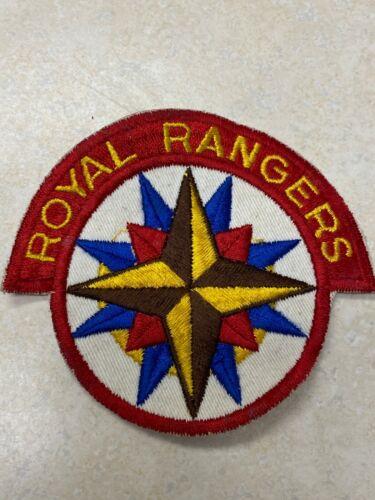Vintage Royal Rangers Cut Edge Shoulder Patch
