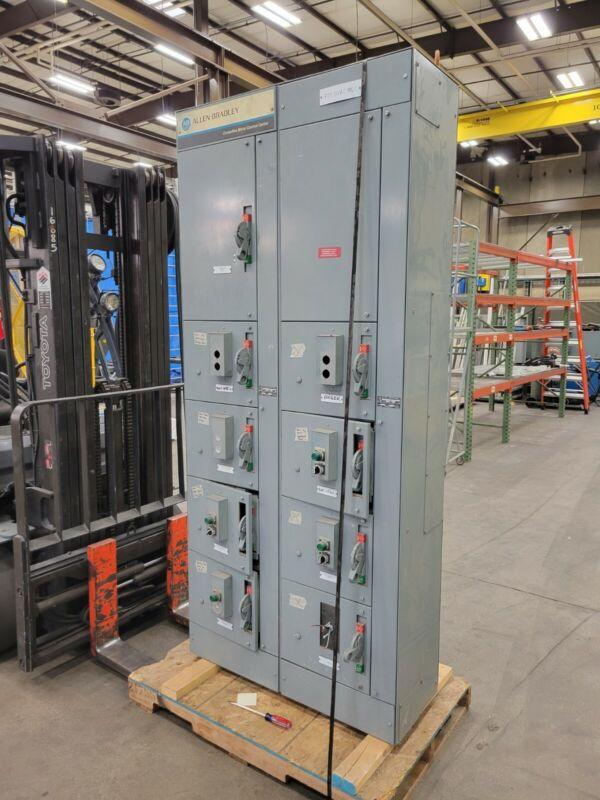 Allen Bradley Centerline Motor Control Center / 800 AMP