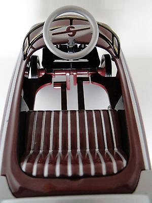 Brown Pedal Car Vintage Ford Custom Truck Show Pickup Midget Metal Model