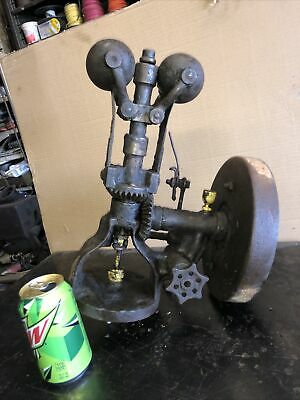 Antique Gardner 2 Ball Governor Steam Tractor Engine