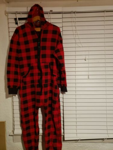 #Followme men buffalo plaid Jumpsuit  sleepsuit