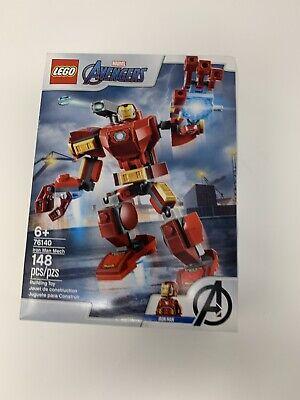 Lego 76140 Marvel Avengers Iron Man Mech Infinity War Robot Armor Damaged Box