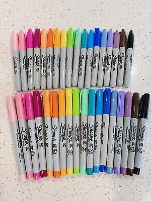 Sharpie Marker Lot - 36 Markers - Excellent Condition