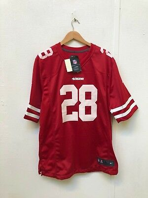 b113654d5 San Francisco 49ers Men s Nike NFL Game Jersey - L - Hyde 28 - New with  Defects