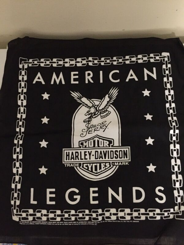 SAILOR JERRY HARLEY DAVIDSON American Legends bandana new
