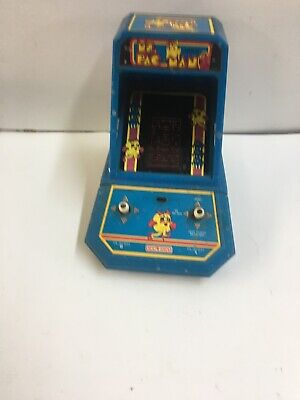 Vintage 1983 COLECO MS. PAC-MAN PACMAN TABLE TOP ARCADE GAME midway WORKS