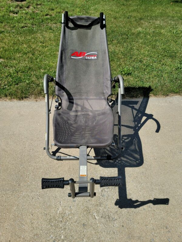 AB LOUNGE ULTRA Exercise Chair Abdominal Workout Lounger good working condition
