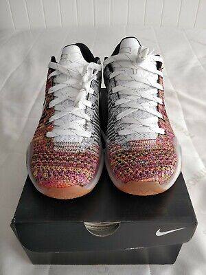 Nike iD Kobe elite 10 X 2015 lot multicolor flyknit last dance BNIB size UK8/US9