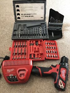 Milwaukee 12V Drill/Charger & Accessories