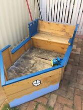 Free Childs wooden play boat Kensington South Perth Area Preview
