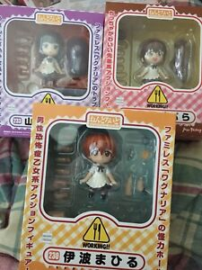 Wagnaria/Working Nendoroids set and playsets