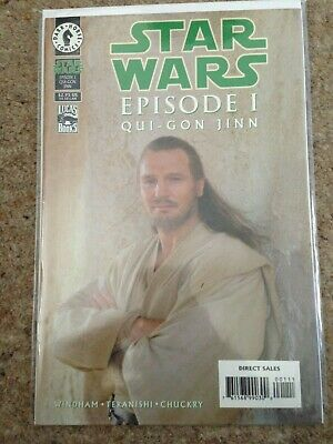 Dark Horse Star Wars Episode 1 Comic Qui Gon Jinn
