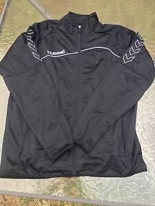 Hummel tracksuit jacket (black) Jannali Sutherland Area Preview