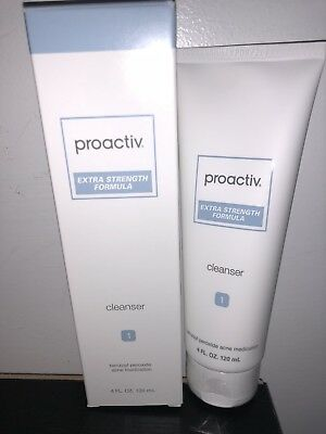 Proactiv Extra Strength Formula Cleanser 4oz 60Day EXP 09/2020 New Package