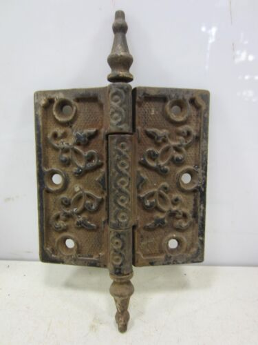 "Antique Steeple Top Door Hinge 4""   HI#24"