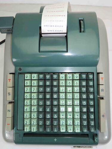 Rare 1950s Clary Multiplier Model 115 Electro-Mechanical Adding Machine U.S.A.
