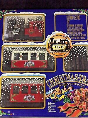 "LGB #22540 ""THE CHRISTMAS TRAIN"" RED STARTER SET"