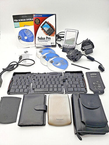 Palm Pilot m515 PDA - WORKS! - Great condition - New battery - MANY ACCESSORIES!