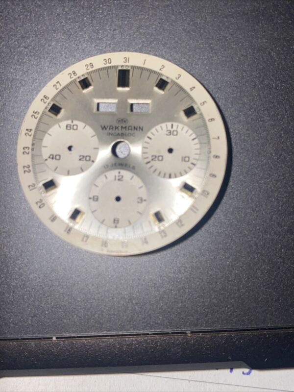 Rare Wakmann Triple Date Triple Register Dial #2