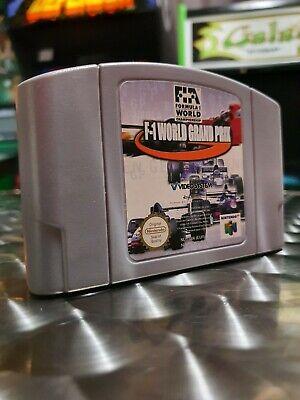 F1 World Grand Prix - N64 Nintendo 64 Game Cart - Genuine AUS