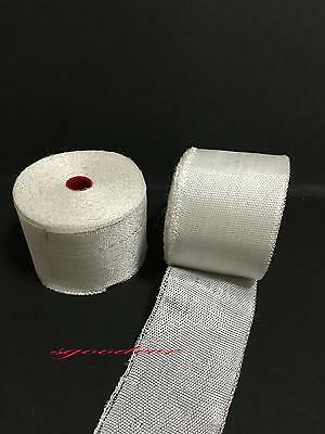 50mm Plain Weave Fiberglass Cloth Tape E-glass Wide Fiber