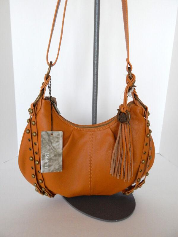 BORN Litchfield Soft Leather Hobo/Cross Body/ Shoulder Bag NWT $199 +Tax