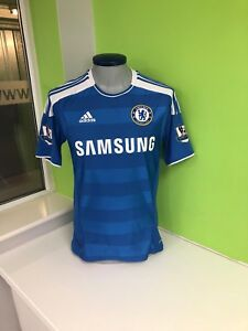 Chelsea Fc Home shirt Jersey Torres #9 Small Adidas Champions League Winners