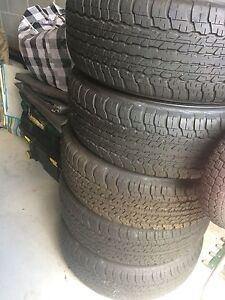 Tyres For Sale x 5 Mount Cotton Redland Area Preview