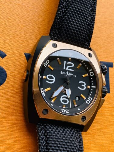 Bell & Ross Marine BR02-20-S/R-548 Steel & Rose Gold - watch picture 1