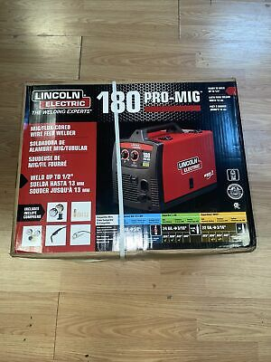 Lincoln Electric 180 Pro-mig Migflux-cored Wire Feed Welder 11937 Brand New