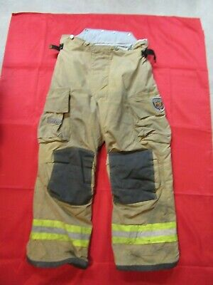 Mfg. 2010 38 X 28 Fire Dex Firefighter Turnout Bunker Pants Gear Rescue Safety
