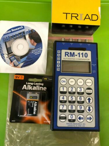 Radian Research RM-110 Automated Comparator Testing Watthour Billing Meter USED