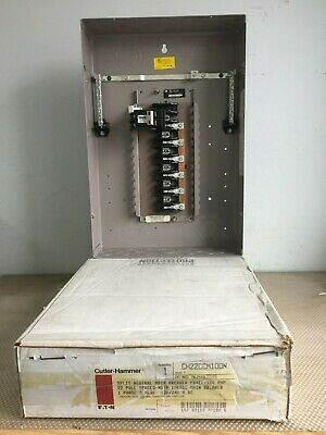 Cutler Hammer Ch22ccm100n Main Breaker 100 Amp With 22 Circuits Panel.p-331