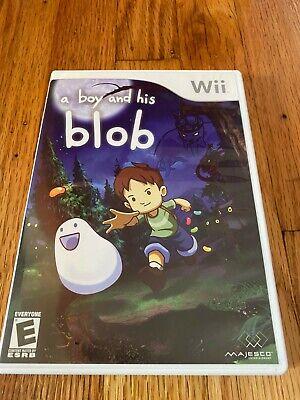 David Crane's A Boy and His Blob (Nintendo Wii) Complete Original Owner