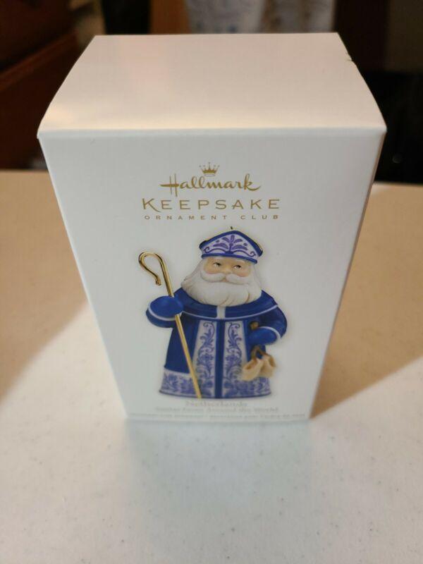 Hallmark Keepsake Ornament Netherlands Santa From Around the World EXCLUSIVE