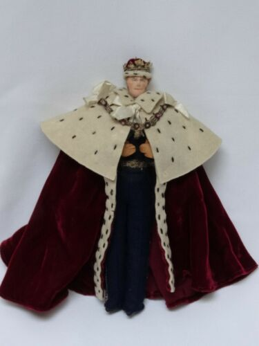 Vintage Liberty of London Cloth Doll Duke of Edinburgh  Coronation Outfit 1953