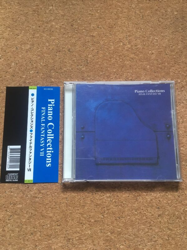 Final Fantasy VII Piano Collections Original Soundtrack CD Japan Rare
