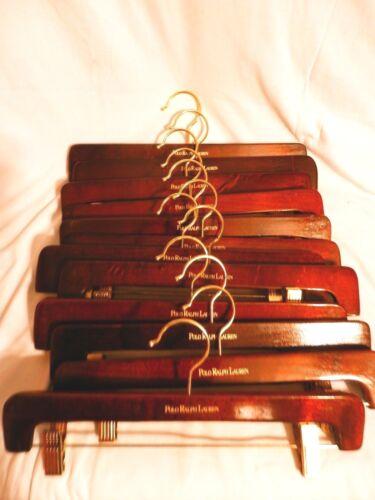 polo ralph lauren wooden clothing hangers