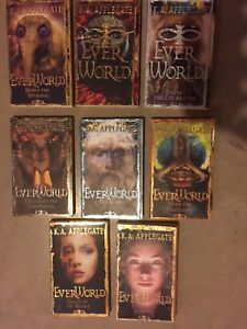 EVERWORLD series by K.A. APPLEGATE