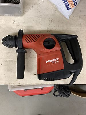 Hilti Te 16-c Hammer Drill Preowned