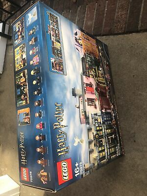 LEGO 75978 Harry Potter Series Diagon Alley New Sealed Wear Outer Box