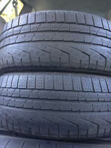 2-225/50R17 Pirelli winter tires