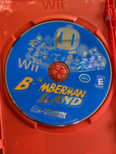 Bomberman Land Nintendo Wii, 2008  - $12.00