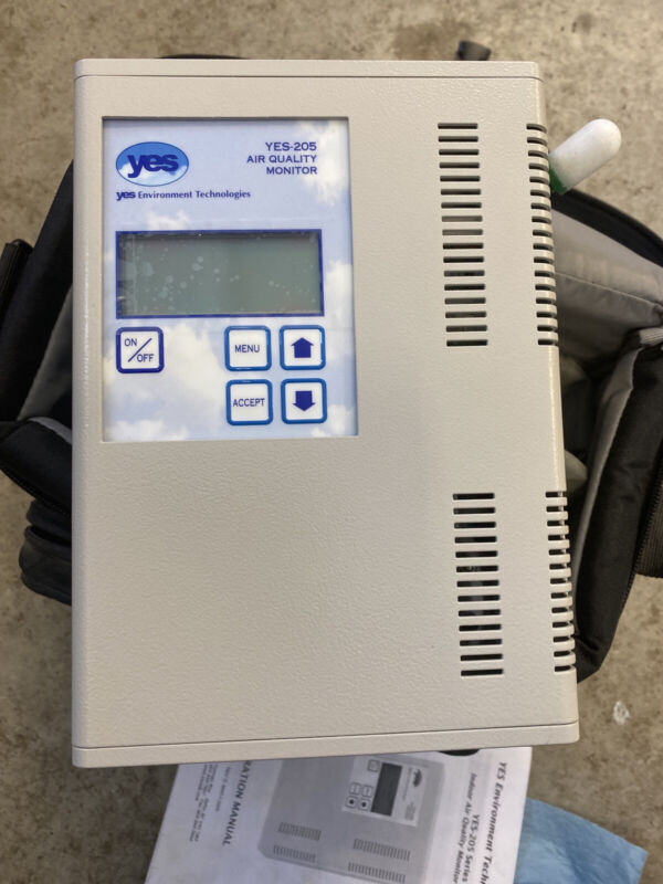 Indoor Air Quality Monitor-Logger. YES-205 Series Environment Technologies Inc