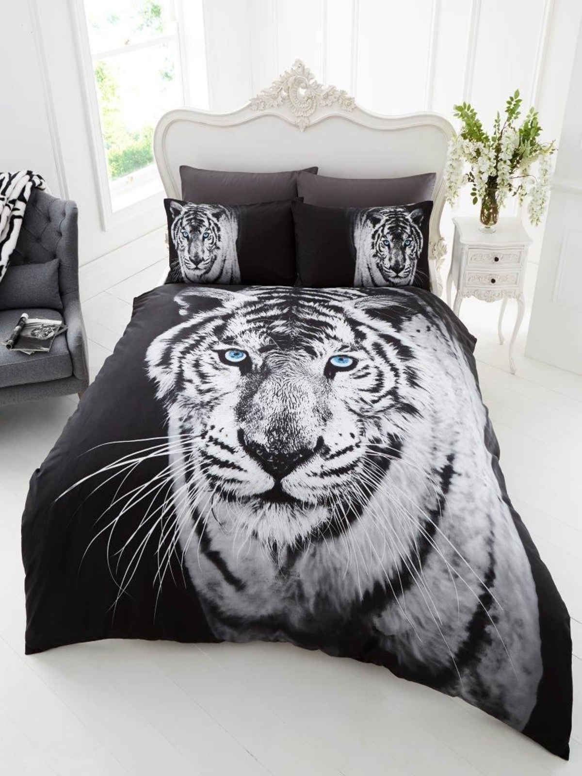 Wildlife Animal Print Duvet Cover Quilt Cover Bedding Sets