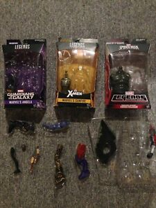 Action figures and BAF pieces
