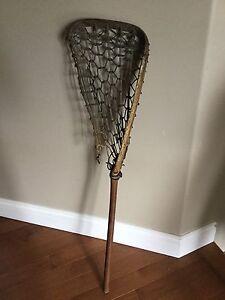 Antique Lacrosse Goalie Stick